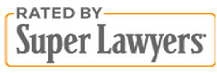 rated by super lawyers badge